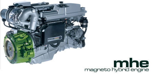 magnetic assisted diesel engine